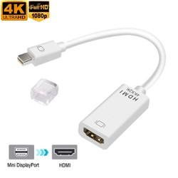 Cáp chuyển đổi Mini DisplayPort  to HDMI 2K loại tốt