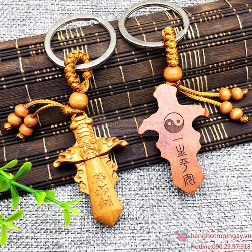 Móc chìa khóa hình cây kiếm gỗ - 7329044 , 13990280 , 15_13990280 , 32000 , Moc-chia-khoa-hinh-cay-kiem-go-15_13990280 , sendo.vn , Móc chìa khóa hình cây kiếm gỗ