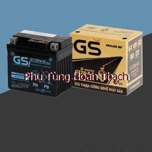 Bình Ắc Quy Khô GS GTZ6V-E 12V - 5Ah - 7298205 , 13970276 , 15_13970276 , 362000 , Binh-Ac-Quy-Kho-GS-GTZ6V-E-12V-5Ah-15_13970276 , sendo.vn , Bình Ắc Quy Khô GS GTZ6V-E 12V - 5Ah