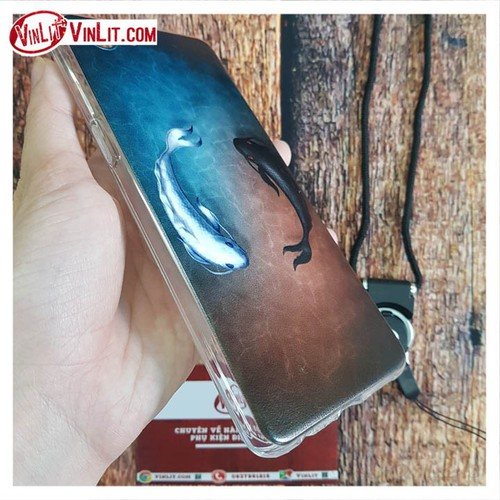 Ốp lưng Oppo F7 Youth ốp hình cá Koi cực chất  kèm dây-mẫu 1