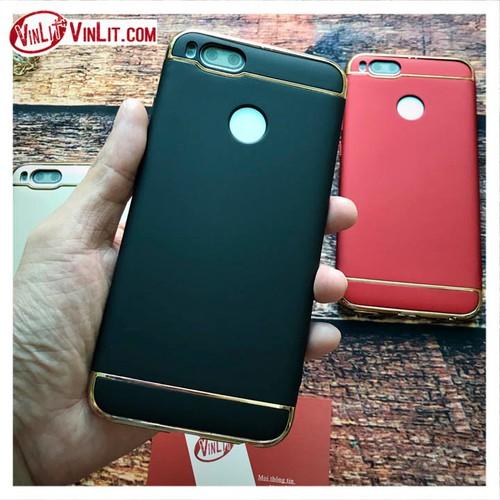 Ốp lưng Xiaomi Mi 5x  Mi5x 3 mảnh doanh nhân sang trọng Đen