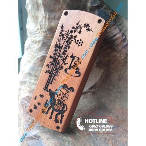 Vỏ gỗ điện thoại 1202, 1280 - Gỗ Hương