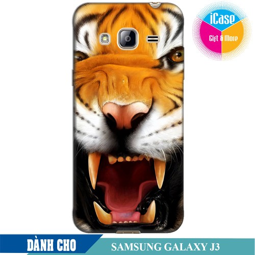 Ốp lưng nhựa dẻo dành cho Samsung Galaxy J3 in hình Tiger - 4634205 , 13985119 , 15_13985119 , 99000 , Op-lung-nhua-deo-danh-cho-Samsung-Galaxy-J3-in-hinh-Tiger-15_13985119 , sendo.vn , Ốp lưng nhựa dẻo dành cho Samsung Galaxy J3 in hình Tiger