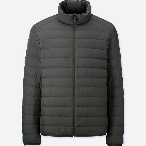Áo lông vũ không mũ nam mã 409323 màu 59 Dark Gray - hàng nhập Nhật