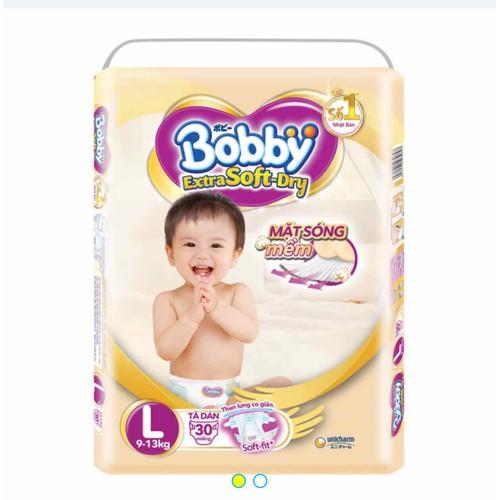 Tã dán Bobby extra soft dry L30 - 4633260 , 13979120 , 15_13979120 , 246000 , Ta-dan-Bobby-extra-soft-dry-L30-15_13979120 , sendo.vn , Tã dán Bobby extra soft dry L30