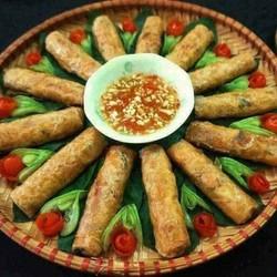 Bánh Ram Hà Tĩnh - Bánh ram gói nem 100 lá