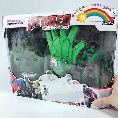 Siêu Anh Hùng Hulk - Mặt Nạ Và Găng Tay