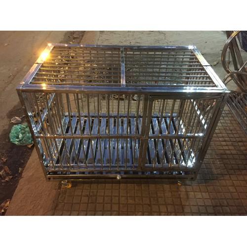 chuồng chó inox lắp ráp - 7320059 , 13984737 , 15_13984737 , 2150000 , chuong-cho-inox-lap-rap-15_13984737 , sendo.vn , chuồng chó inox lắp ráp