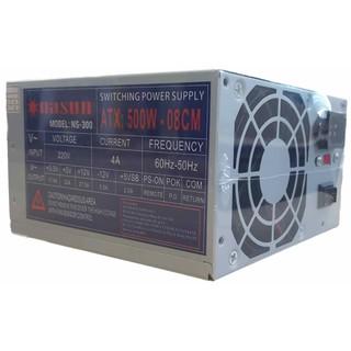 Nguồn máy tính fan 8cm Nasun NS-300 kèm dây nguồn - NS-300 thumbnail