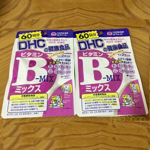 Viên uống DHC bổ sung Vitamin B Mix Nhật Bản 60 Ngày
