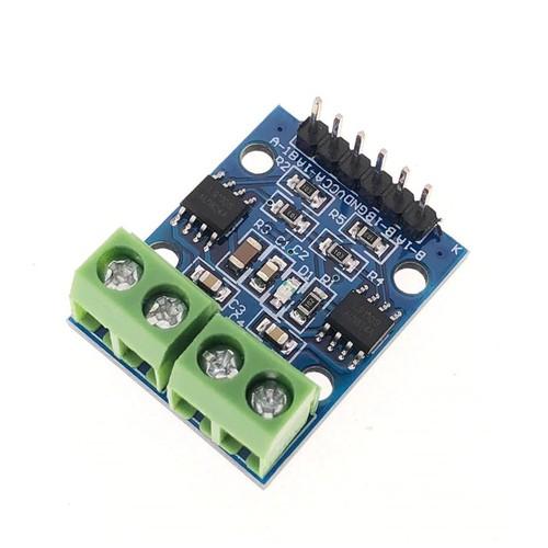 Mạch điều khiển động cơ DC L9110S cho Arduino - 11235563 , 16075110 , 15_16075110 , 35000 , Mach-dieu-khien-dong-co-DC-L9110S-cho-Arduino-15_16075110 , sendo.vn , Mạch điều khiển động cơ DC L9110S cho Arduino