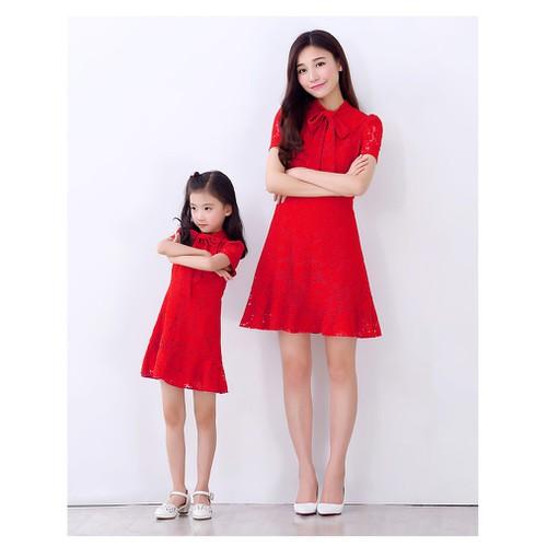 Váy đôi mẹ và bé - 11236010 , 16076405 , 15_16076405 , 620000 , Vay-doi-me-va-be-15_16076405 , sendo.vn , Váy đôi mẹ và bé