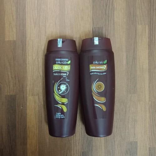 Cặp dầu Gội - Xả Thái Dương 7 chai 200ml