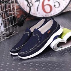 Giày lười vải nam GLN-01