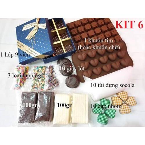 bộ Kit 6 làm socola combo làm chocolate - 11236932 , 16079068 , 15_16079068 , 120000 , bo-Kit-6-lam-socola-combo-lam-chocolate-15_16079068 , sendo.vn , bộ Kit 6 làm socola combo làm chocolate