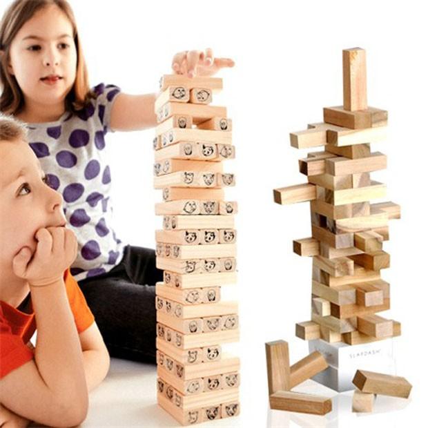 Đồ chơi rút gỗ cho bé