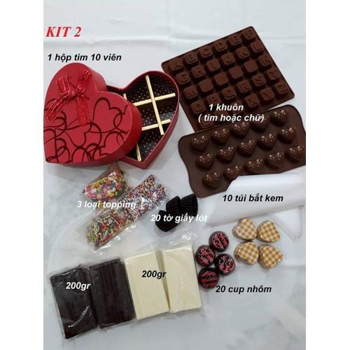 bộ Kit 2 làm socola combo chocolate - 11236968 , 16079126 , 15_16079126 , 160000 , bo-Kit-2-lam-socola-combo-chocolate-15_16079126 , sendo.vn , bộ Kit 2 làm socola combo chocolate