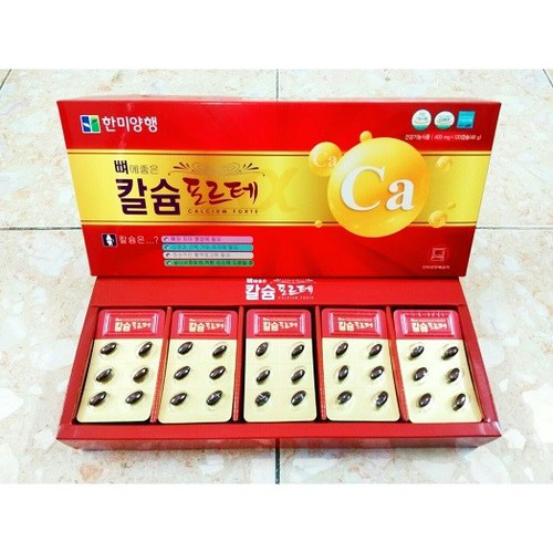 Viên Uống Canxi Hàn Quốc 120 Viên