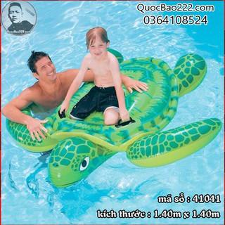 Phao bơi rùa biển xanh lá 1.40m x 1.40m- Bestway 41041 - b41041 thumbnail