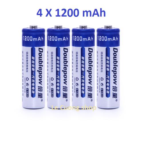 Bộ 4 viên pin tiểu sạc Doublepow AA 1200mAh chuyên cho Mic,máy đo huyết áp ... - 7544751 , 16091187 , 15_16091187 , 48000 , Bo-4-vien-pin-tieu-sac-Doublepow-AA-1200mAh-chuyen-cho-Micmay-do-huyet-ap-...-15_16091187 , sendo.vn , Bộ 4 viên pin tiểu sạc Doublepow AA 1200mAh chuyên cho Mic,máy đo huyết áp ...