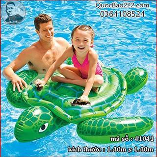 Phao bơi rùa biển xanh lá 1.40m x 1.40m- Bestway 41041 - e41041 thumbnail