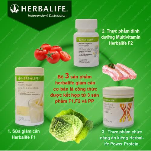 Bộ ba giảm cân Herbalife