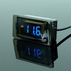 Đồng hồ Volt xe máy 12V