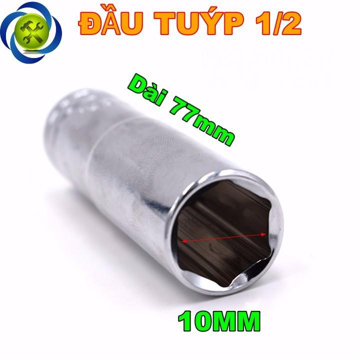 Tuýp trắng dài 10mm C-mart F0291-6-10 1 phần 2  1