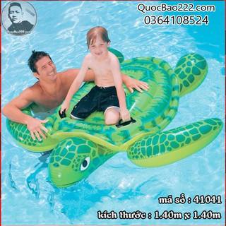 Phao bơi rùa biển xanh lá 1.40m x 1.40m- Bestway 41041 - l41041 thumbnail