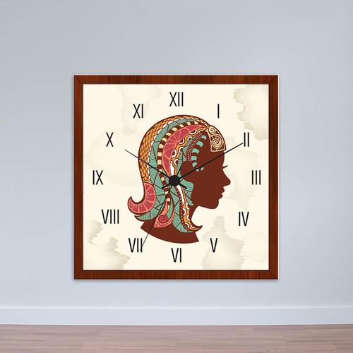 Đồng hồ treo tường cung Xử Nữ | Đồng hồ tiện ích giá rẻ WC055