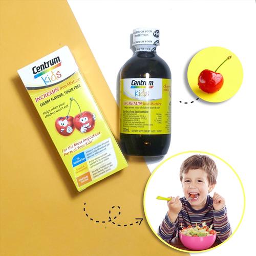 Siro Centrum Kids cho trẻ biếng ăn
