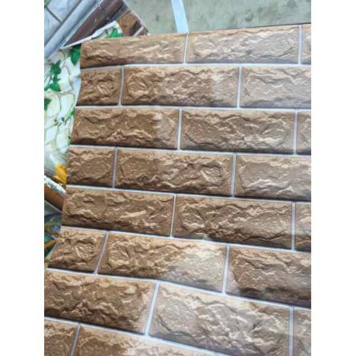 giấy dán tường giả gạch nâu 3D có sẵn keo khổ 45cm - 11244707 , 16100334 , 15_16100334 , 99000 , giay-dan-tuong-gia-gach-nau-3D-co-san-keo-kho-45cm-15_16100334 , sendo.vn , giấy dán tường giả gạch nâu 3D có sẵn keo khổ 45cm