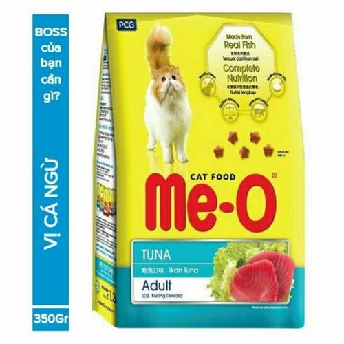 Thức ăn Me-O cho mèo trưởng thành vị cá ngừ 1.2kg