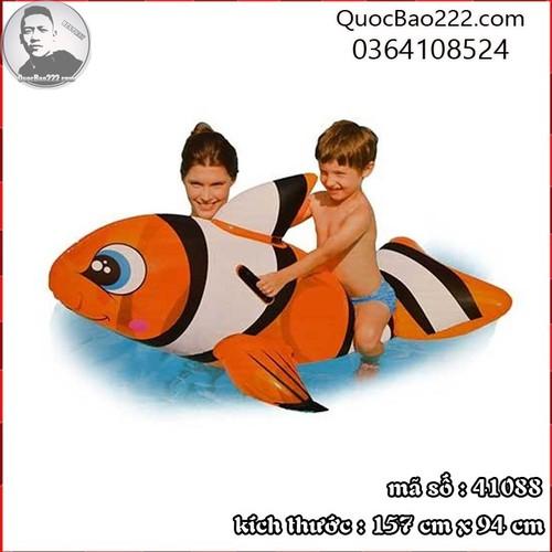 Phao bơi cá nemo 1.57m x 94cm - Bestway 41088