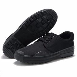 Giày nam đen chống đinh