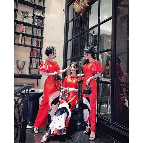 Áo Dài Truyền Thống tay phòng họa tiết cô gái kèm quần - 11243004 , 16095561 , 15_16095561 , 550000 , Ao-Dai-Truyen-Thong-tay-phong-hoa-tiet-co-gai-kem-quan-15_16095561 , sendo.vn , Áo Dài Truyền Thống tay phòng họa tiết cô gái kèm quần