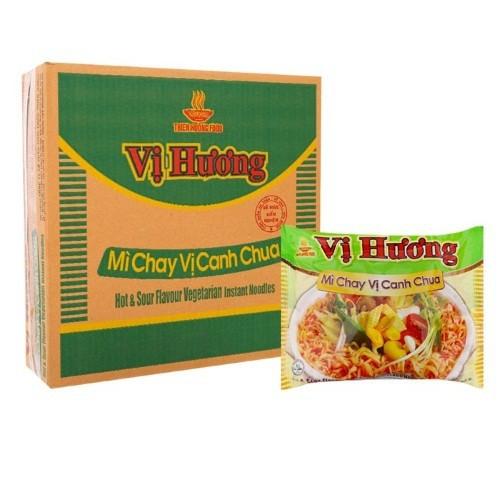 Mì chay canh chua Vị Hương thùng 30 gói x 65g