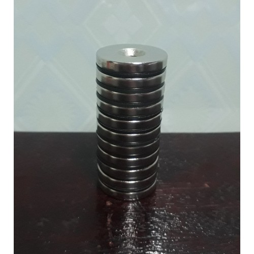 Bộ 11 viên 30x5 nam châm đất hiếm loại tròn dẹt có lỗ vát 6mm - 11242187 , 16093305 , 15_16093305 , 211000 , Bo-11-vien-30x5-nam-cham-dat-hiem-loai-tron-det-co-lo-vat-6mm-15_16093305 , sendo.vn , Bộ 11 viên 30x5 nam châm đất hiếm loại tròn dẹt có lỗ vát 6mm