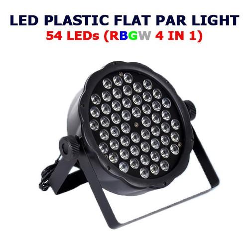 Đèn sân khấu Flat Par Light 54 Led Cảm ứng âm thanh