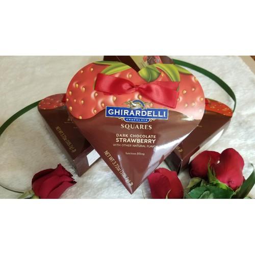 Socola trái dâu_Chocolate Ghirardelli