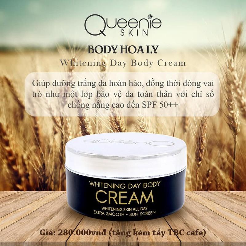 Body Dưỡng Trắng Da Ban Ngày Queenie Skin