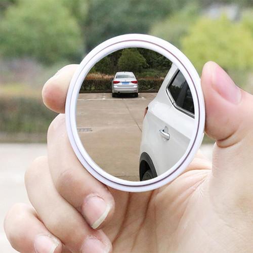 Gương cầu lồi chiếu hậu cho xe ô tô HT-1003 màu trắng