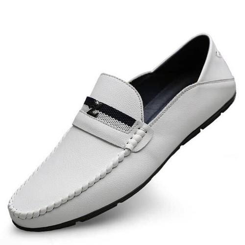 Giày Lười Da Cao Cấp - Đế Siêu Êm