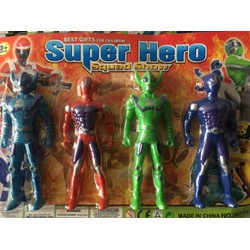 Vĩ biệt đội 4 siêu nhân anh hùng Super Hero