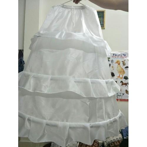 Tùng Lộng lót váy cưới bung xòe gọng thép 3 tầng - 10627102 , 16100805 , 15_16100805 , 130000 , Tung-Long-lot-vay-cuoi-bung-xoe-gong-thep-3-tang-15_16100805 , sendo.vn , Tùng Lộng lót váy cưới bung xòe gọng thép 3 tầng
