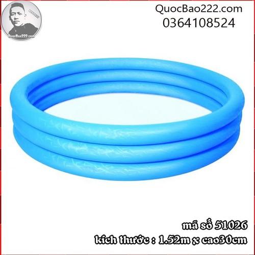 Bể Bơi Phao Tròn Cỡ Lớn kích thước 1.52m x 30cm Bestway 51026 - 7547107 , 16103983 , 15_16103983 , 187000 , Be-Boi-Phao-Tron-Co-Lon-kich-thuoc-1.52m-x-30cm-Bestway-51026-15_16103983 , sendo.vn , Bể Bơi Phao Tròn Cỡ Lớn kích thước 1.52m x 30cm Bestway 51026