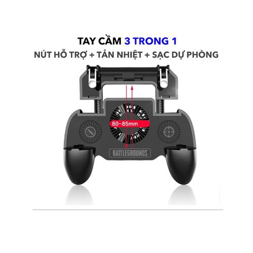 Tay Cầm Chơi Game Mobile Tích Hợp Tản Nhiệt Và Sạc Dự Phòng Cho Điện Thoại - 4677646 , 16109649 , 15_16109649 , 259000 , Tay-Cam-Choi-Game-Mobile-Tich-Hop-Tan-Nhiet-Va-Sac-Du-Phong-Cho-Dien-Thoai-15_16109649 , sendo.vn , Tay Cầm Chơi Game Mobile Tích Hợp Tản Nhiệt Và Sạc Dự Phòng Cho Điện Thoại