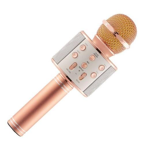 Mic hát kèm loa Bluetooth WS-858 cao cấp