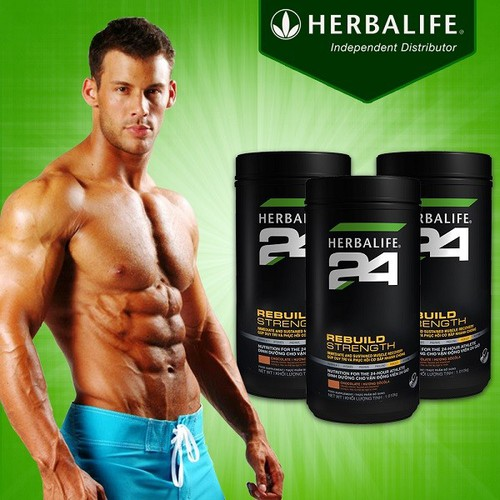 herbalife - HERBALIFE 24 REBUILD STRENGTH HERBALIFE 1080G - PHỤC HỒI CƠ BẮP SAU TẬP
