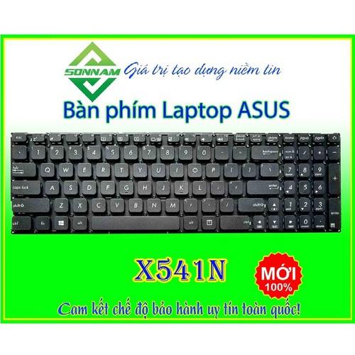Bàn phím laptop asus x541n zin cao cấp